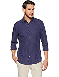 United Colors Of Benetton Men's Geometric Print Slim Fit Casual Shirt