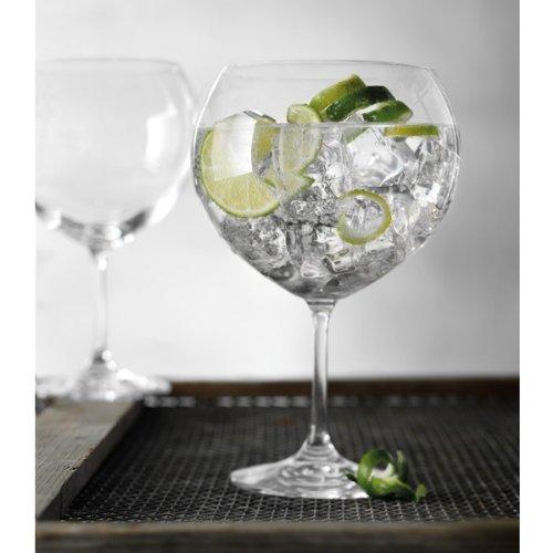 Cristal de Bohemia - Juego de 6 copas Bohemia Gin Tonic