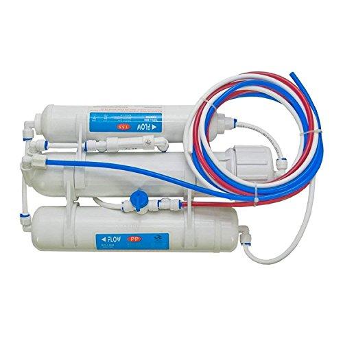 Vyair Compact 3-stufiges 50-Gallonen pro Tag Umkehrosmose-Wasserfiltersystem (geeignet für tropische Fische, Trinkwasser, Pflanzen, Arzneimittel) (Culligan-wasser-filter)