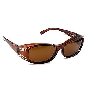 74467b730a6 Rapid Eyewear Fashionable TORTOISESHELL WOMENS POLARIZED OVER ...