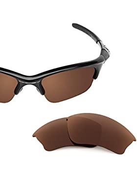 Sunglasses Restorer Lentes Polarizadas de Recambio Color Marron para Oakley Half Jacket 2.0