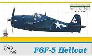 Eduard Plastic Kits 8434 F6F-5 Hellcat - Caza a escala importado de Alemania
