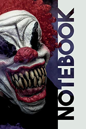 Notebook: Scary Clowns Practical Composition Book for Horror Film Fans (De Halloween Cinema 2019)