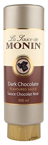 Dicke Sauce von Monin mit dunkler Schokolade 500 ml