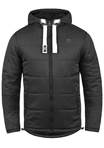 SOLID Bendix Herren Winterjacke Jacke mit Kapuze aus hochwertiger Materialqualität, Größe:M, Farbe:Black (9000)