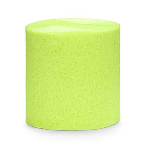 ück Rolle KREPP-Papier Rosen grün von Apple 5 cm x 10 M jeder total 40 M ()