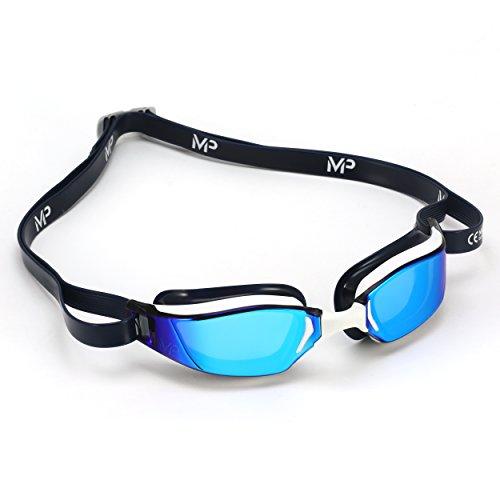 Aqua Sphere XCEED Gafas de natación, Unisex, Blanc y Azul, Talla única