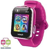 VTech Kidizoom Smart Watch DX2 - Reloj inteligente para niños con doble cámara, color frambuesa (3480-193847)