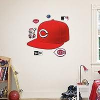 Cincinnati Reds Cap Wall Graphic by Fathead