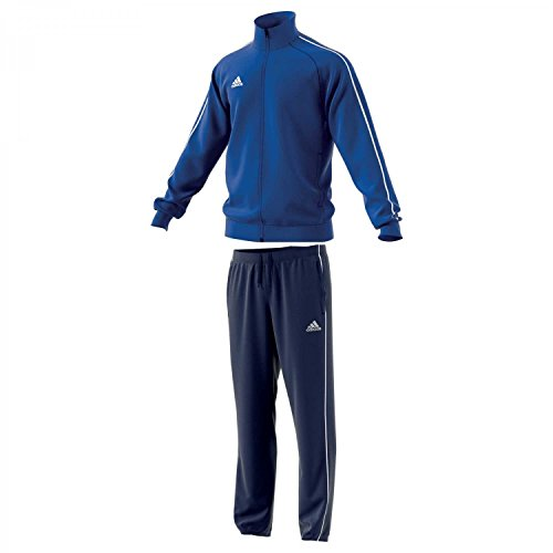 adidas Damen Re Focus Trainingsanzug, BlackRednit, L: Sport