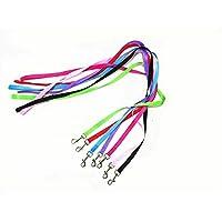 ZFWB Nylon pet dog belt belt dog collar walking training belt pet dog and dog belt belt 120cm Red
