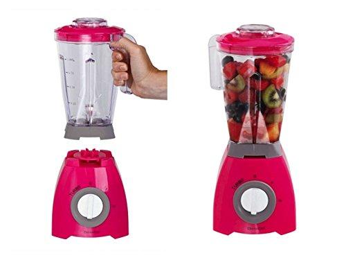 Batidora de Mix 1litros Smoothie maker 2niveles Vaso Medidor Blender, licuadora, 400W, leche...