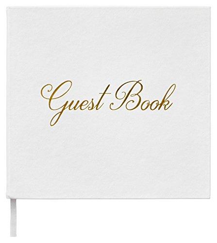 Leonora Modernes Gästebuch für Hochzeiten - Papier 150 GSM - 140 Seiten - Hochzeitsbuch - Album