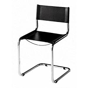 Sedia mart stam cuoio cantilever chair sedia a for Sedia design amazon