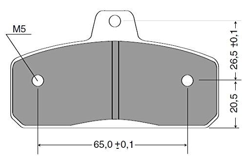 Motorquality 07K001pastiglie freno posteriore