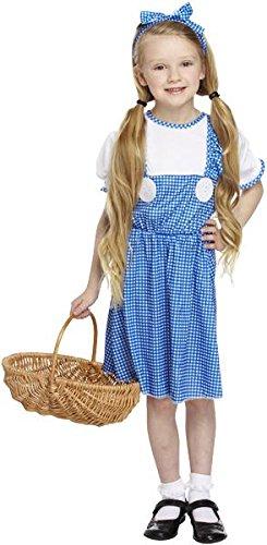 Kinder Mädchen Country Kostüm für Märchen Dorothy oz Fancy Kleid Höhe: 110–120cm Kleine