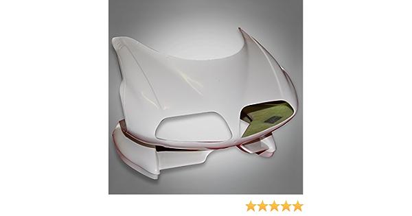 Dr418ms Ricambiweiss Cagiva 125 Mito Evo Strada Gfk Maske Oberteil Verkleidung Neu Auto