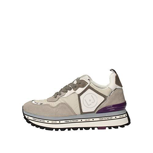 Liu jo sneaker maxi alexa running donna grey 40 taglia europea : 40 eu