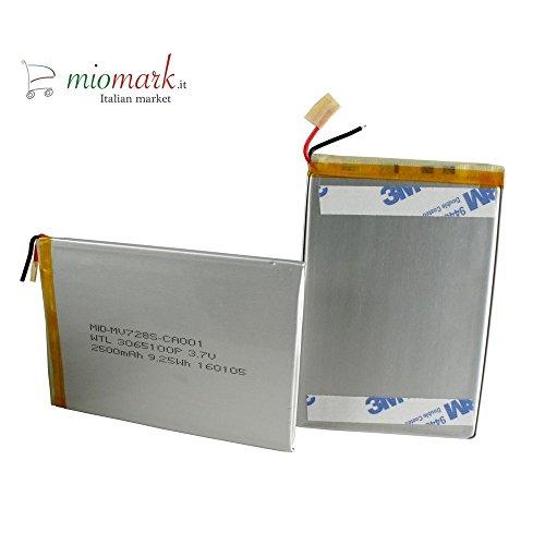 batteria tablet MEDIACOM BATTERIA ORIGINALE PER MEDIACOM TABLET W700 M-WPCW700 M-WPBW700 M-WPAW700 - SPED. TRACCIATA