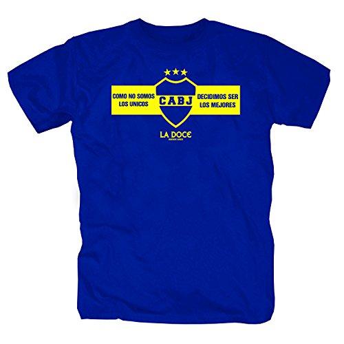 Boca Juniors CABJ Camiseta azul XXL