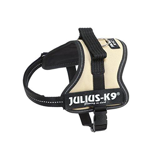 Julius-K9, 162BE-MM, K9 Powergeschirr, Größe: Mini-Mini, beige