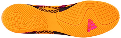 Adidas Performance X 15.4 Indoor Chaussure de football, noir / choc rose / or, 7 M Us Gold/Black/Shock Pink