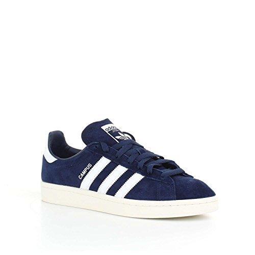 adidas Herren Campus Laufschuhe Mehrfarbig (Dark Blue/ftwr White/chalkwhite)