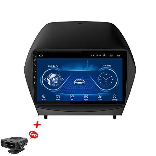 HHttM Android 8.1 9-Zoll-Autoradio Für 2010-2017 Hyundai IX35 GPS-Navigations-Multimedia-Player Mit USB Bluetooth, AM FM RDS-Autoradio, GPS-Fahrzeugnavigation Für Auto, Autosysteme
