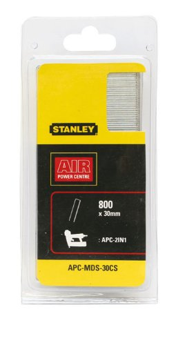 Stanley-20 mm Agrafes 5640H27020 (50 Sacs Transparents pour Emballer 800-) Mds 20Cs-Apc