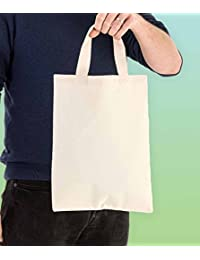 100% Cotton Shopping Bag (5 Bags Set)