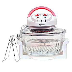 Ad Fresh Oven Multi-Function Light Wave 1300W Halogen Oven 12L Turbo Oven 220V Conventional Infrared Super Wave