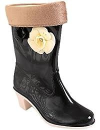 Amazon.it  stivali calzino donna - 4 - 7 cm   Scarpe da donna ... 61e24a55eb5