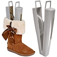 """Jago Plastic Boot Support Shapers 14.9"""" Shoe Care Stands Stretcher Trees (1 Pair) (Set of 1)"""