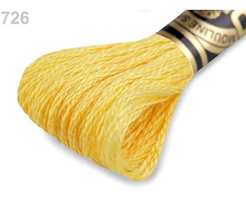 1stück 726 Safran Stickgarn Dmc Mouliné Spécial Cotton, Garne Mouline, Stricken, Häkeln Und Sticken, Kurzwaren -