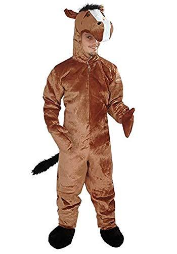 nheitsgrösse M Kostüm Fasching Karneval Maskottchen ()