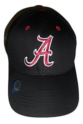 National Cap Alabama Crimson Tide Gap Strukturierte Erwachsene Schwarz Hat