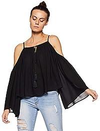 Forever 21 Women's Plain Slim Fit Shirt