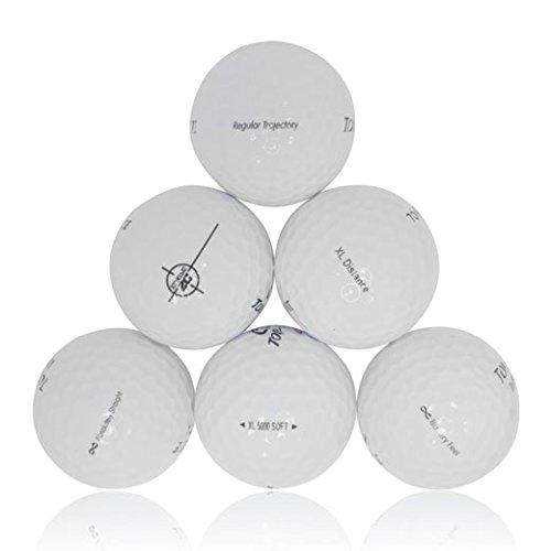 Top Flight Recycling Golfbälle Mix (50Stück)