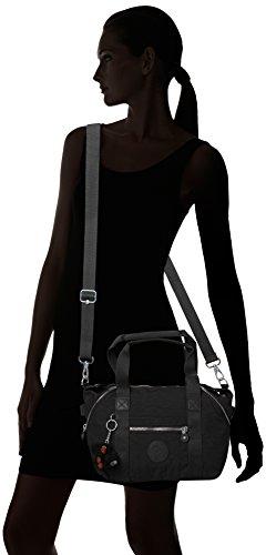 Kipling Damen Art Mini Henkeltasche, 34x21x18.5 cm Schwarz (True Black)
