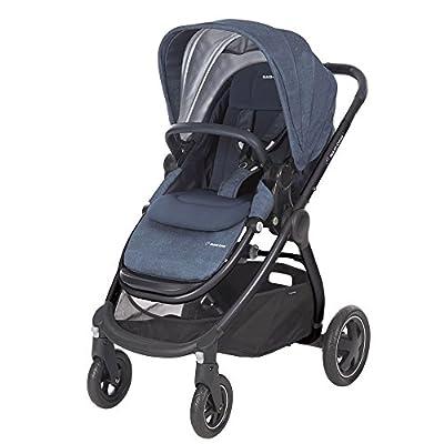 Maxi Cosi adorra komfortabler cochecito para su hijo, con riesigem cesta de la compra, einhändigem plegable mecanismo y poco peso de menos de 12kg de 0a hasta 3,5años aprox, color azul