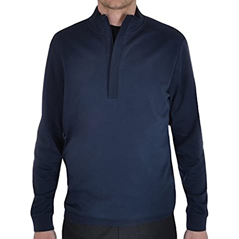 Ashworth rendimiento Mens Golf Stretch viento Jersey, color azul marino, tamaño small