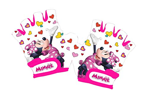 Disney Minnie Mouse - Guantes Ciclismo niña, Color