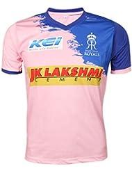 595bb6af4eb KD IPL Cricket RR 2019 Jersey Supporter T Shirt STOKES 55 Custom Print Name  No Rajasthan