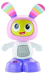 Fisher-Price- Robot MINIROBOT Robi Y MINIROBITA ROBOTITA, Multicolor, 16 x 10 cm (Mattel FFF69)