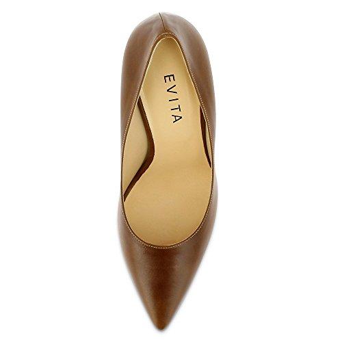 Evita ShoesILARIA - Scarpe col tacco Donna Marrone (Cognac)