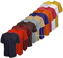 Uni Classique T-shirt Haut 100% Coton Décontracté Loisirs Sports Travail UC301