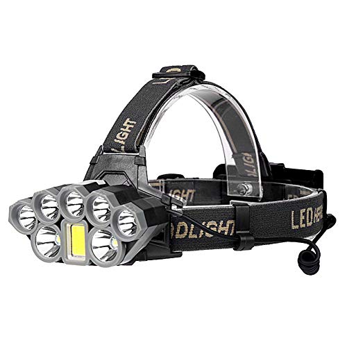 Ultra Lumineux 90000 Lumens Led Phares Usb Rechargeable Étanche Chasse Chasse Pêche Zoom Lampe Frontale, Un