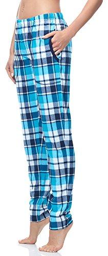 Italian Fashion IF Pantaloni Pigiama per Donna IF180045 Turchese(Tora)