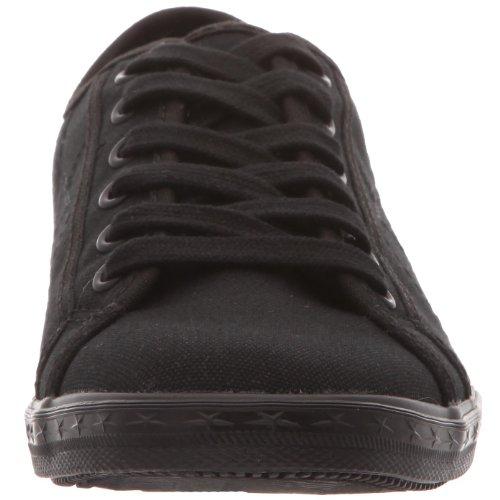 Converse Os Low Profile Canvas Ox, Basket mode mixte adulte Noir monochrome
