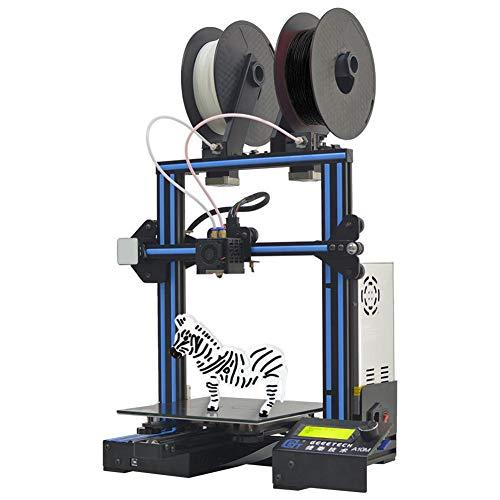 JUNERAIN Geeetech 3D Printer A10M 2 In1 Extrusora Doble GT2560 Juego de Kit de Fuente Abierta